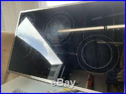2x Bosch Built-in Electric Single Oven, Touch control, Stainless and Hob