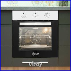 50-250 Timer Built-in Single Rack Electric Oven Plug Fitted MAX. 2200W 60cm