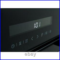 65 Litre 9 Function Full Fan Touch Control Electric Single Oven in Black