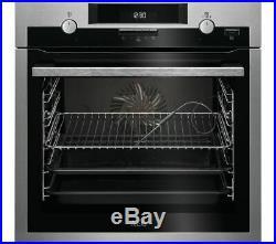 AEG BCS552020M 60cm Built-in Single Oven Stainless Steel