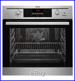 AEG BE500352DM SteamBake Built-In Multifunction Electric Single Oven
