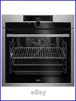 AEG BPE842720M Built-In Pyrolytic Multifunction Single Oven A114245