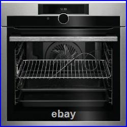 AEG BPE842720M Built-In Single Oven, Stainless Steel