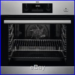 AEG BPK351020M Built-In'A+' Multifunction Electric SteamBake Single Oven