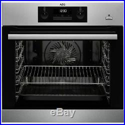 AEG BPK351020M Built In A+ Rated Multifunction Electric SteamBake Single Oven
