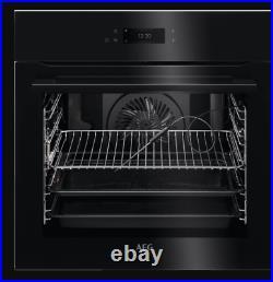 AEG BPK748380B Built In Pyrolytic Single Electric Oven in Black U43005