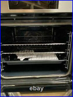 AEG BPS355020M Built In Electric Single Oven with added Steam Function Stainless