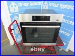 AEG BPS356020M Built in Single Electric Oven Stainless Steel GRADED