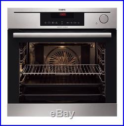 AEG BS7304021M Built-in ProCombi Steam Single Electric Oven, Stainless Steel