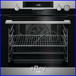 AEG BSK574221M Built In Single Oven With Steam Function