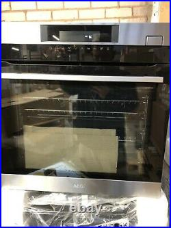 AEG BSK78232PM Built in Single Steamboost Electric Oven Stainless Steel HA1487