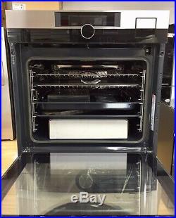 AEG BSK892330M Built In SteamPro Multifunction Single Oven Command Wheel S/Steel