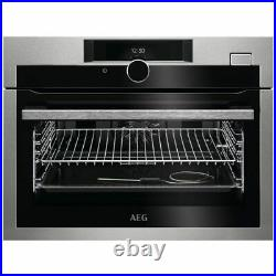 AEG KSE882220M Built In Compact Electric Single Oven Steam Function FA9640