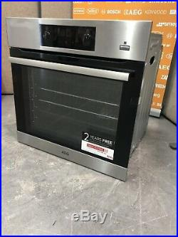 AEG SteamBake BES355010M Single Built-In Electric Steam Oven, A Energy HW173860