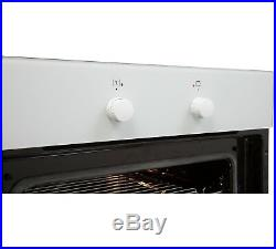 Amica 10533W Built-in or Under White Electric Single Multifunction Oven, 60cm