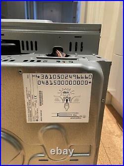 BOSCH HBA63A250B Single Brushed Steel Built-In Multi-Function pyroKlean Oven