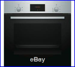 BOSCH HHF113BR0B Built In Electric Single Oven Stainless Steel