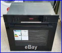 BOSCH Serie 4 HBS534BB0B Integrated Built In Single Oven, Black, RRP £399