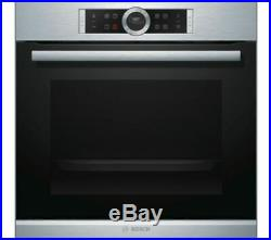 BOSCH Serie 8 HBG674BS1B Integrated Built In Single Oven, RRP £729