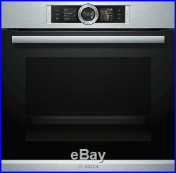 BOSCH Serie 8 HBG6764S1B Integrated Built In Single Oven, RRP £959