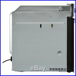 Baumatic BCPK605X Single Oven & Ceramic Hob Built In Stainless Steel / Black