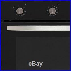 Baumatic BOFMU604X Built In 60cm A Electric Single Oven Stainless Steel New