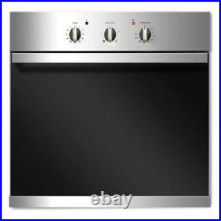 Baumatic BSO612SS Four Function Electric Built-in Single Fan Oven Stainless St