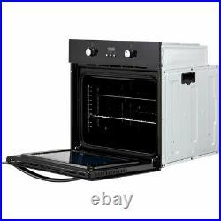 Belling BI602F Built In 60cm A Electric Single Oven Black New
