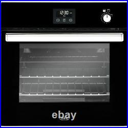 Belling BI602G Built In 60cm Gas Single Oven A Black New from AO