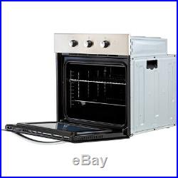 Belling BI602MM Built In 60cm A Electric Single Oven Stainless Steel New