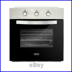 Belling BI602MM Stainless Steel Single Built In Electric Oven