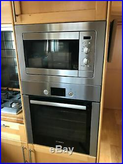 Bosch Built-in 60cm Electric Single Oven And Teka Microwave Good Condition