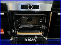 Bosch Built in Electric Single Oven with Grill 60cm HBG634BS1B Stainless Steel