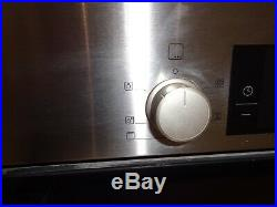 Bosch Built-in single hot air oven HBA13B150B/04 brushed steel