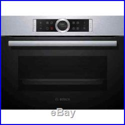 Bosch CBG675BS1B Serie 8 Built In 60cm A+ Electric Single Oven Brushed Steel