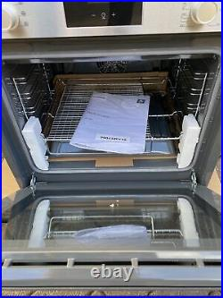 Bosch HBF113BR0B Built-in Single Oven. Stainless Steel/Black. New