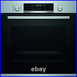 Bosch HBG5585S6B Serie 6 Multifunction Electric Single Oven With Catalytic Clean