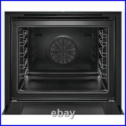 Bosch HBG674BB1B Serie 8 Multifunction Electric Single Oven with 71L HBG674BB1B