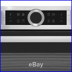 Bosch HBG674BS1B Serie 8 Built In 60cm A+ Electric Single Oven Brushed Steel