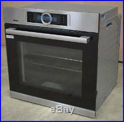 Bosch HBG6764S6B Built-In Single Oven with Home Connect Brushed Steel #970308