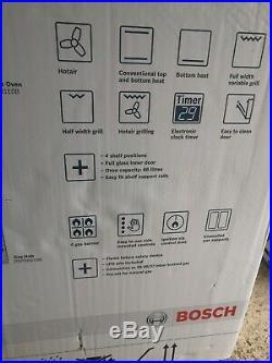 Bosch HBN231E0B Built-In Multifunction Single Oven and 4burner gas hob bargain