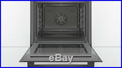 Bosch HBS534BB0B Built In Single Electric Oven Black