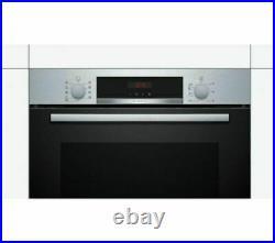 Bosch HBS573BS0B Serie 4 Electric S/Steel Pyrolytic Single Oven +5 Year Warranty