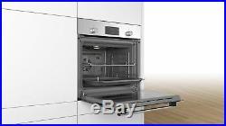 Bosch HHF113BR0B 3D Hot Air Single Built in Oven & Cookology Ceramic Hob Pack
