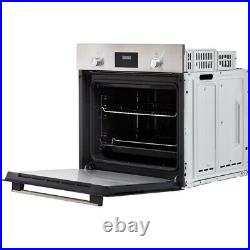 Bosch HHF113BR0B Serie 2 Built In 59cm A Electric Single Oven S/ Steel HW173937