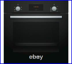 Bosch Serie 2 HHF113BA0B Built In Electric Single Oven Black HA3353