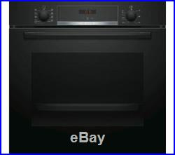 Bosch Serie 4 HBS534BB0B Single Built In Electric Oven, Black
