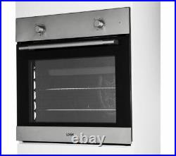 Built in/integrated Single Electric Fan Oven & Grill LBFANX16 Stainless Steel