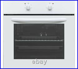 Built in integrated Single Electric Oven & Grill A Rated CBCONW18 White