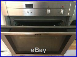 Built in single electric oven used, Neff, full working order, roasting tray etc